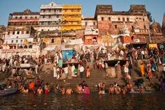 Varanasi ghats Obraz Royalty Free