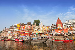 Varanasi-ghats Stockfoto