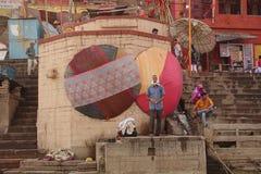 Varanasi Ghats Photo stock
