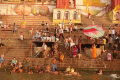 Varanasi Ghats Images stock