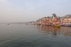 Varanasi Ghats Photographie stock