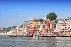 Varanasi ghats Royalty Free Stock Photo