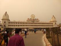 Varanasi, il posto del dio immagini stock