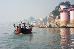 Varanasi India Obrazy Royalty Free