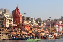 Varanasi, India royalty-vrije stock fotografie