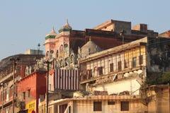 Varanasi, India. Varanasi , also known as, Benares, Banaras  or Kashi is an Indian city on the banks of the Ganga in Uttar Pradesh, 320 kilometres (200 mi) south Stock Photography