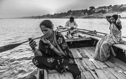 VARANASI, INDIA. Benares (Holy city)Varanasi india Royalty Free Stock Photo