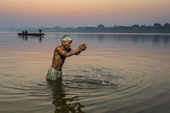 VARANASI, INDIA. Benares (Holy city)Varanasi india Royalty Free Stock Photography