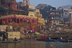 Varanasi, India - novembro 2011 Fotografia de Stock Royalty Free