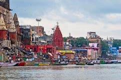 Varanasi Indien Royaltyfria Foton