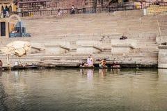Varanasi, Indien Stockfoto