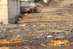 Varanasi indu obraz royalty free