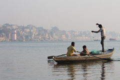 Varanasi indu fotografia royalty free