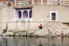 Varanasi indu Obrazy Royalty Free