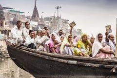 Varanasi indu Obrazy Stock