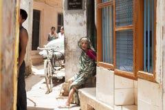 Varanasi indu Zdjęcia Royalty Free