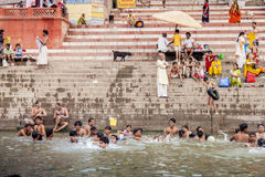 Varanasi indu Zdjęcie Stock