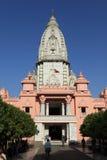 Varanasi Kashi Vishwanath Tempel. The Varanasi Kashi Vishwanath Tempel Stock Photos