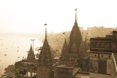 Varanasi, la India Fotografía de archivo