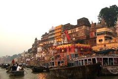 Varanasi Od Ganges rzeki Fotografia Stock