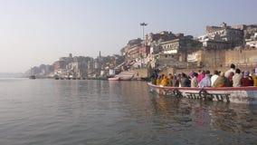 Varanasi is the spiritual capital of India. stock video