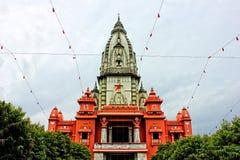 Varanasi Temple. Temple at Benaras (Varanasi), India. A place known for Hindu pilgrimages Stock Images