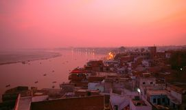 Varanasi, uttar pradesh, Inde, Asie Image stock