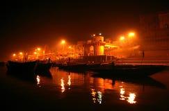 Varanasi Uttar Pradesh, Indien, Asien Royaltyfria Foton