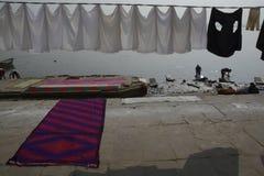 Dhobi ghat at banaras india
