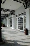 Varanda colonial velha Foto de Stock