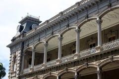 Varanda do palácio, Honolulu Fotos de Stock
