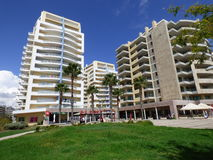 Varandas font le solénoïde 2 Praia DA Rocha Images libres de droits