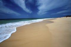 varandinha пляжа стоковое изображение