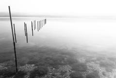 湖varano 免版税库存照片