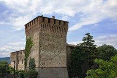 Varano de Melegari castle. Emilia-Romagna. Italy. Stock Photos