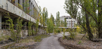 20 2006 varar spökskrivareare den utgångspunkter bebodde inte pripyattownen som gårdår Arkivfoto