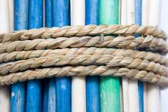 Varas amarradas Imagem de Stock