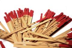 Varas chinesas da fortuna Fotografia de Stock
