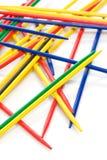 Varas coloridas Imagens de Stock