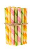 Varas coloridas da bolacha Fotografia de Stock Royalty Free