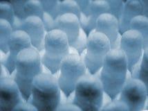 Varas da orelha do algodão Imagens de Stock