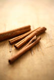 Varas de canela Fotografia de Stock