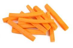 Varas de cenouras frescas Imagens de Stock Royalty Free