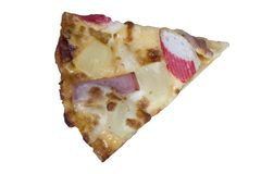 Varas de Ham&Crab da pizza Foto de Stock