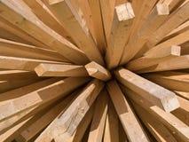 Varas de madeira Imagens de Stock