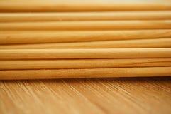 Varas de madeira Imagens de Stock Royalty Free