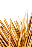 Varas de madeira finas pequenas Imagem de Stock Royalty Free