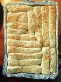 Varas de pão imagens de stock