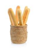 Varas de pão fotografia de stock