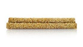 Varas de pão crocantes com sésamo Foto de Stock Royalty Free